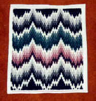 Northern Lights Bargello Pillow Front.JPG (30992 bytes)